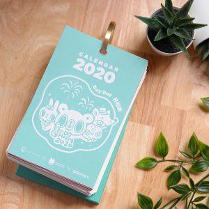 2020 心晴行動 Calendar – Lonely Bear 孤獨熊不再孤獨系列